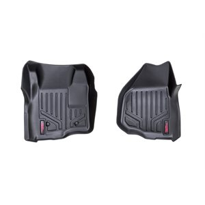H D FLOOR MATS [FR] 11-16 FORD SUPER DUTY | DEPRESSED PEDAL