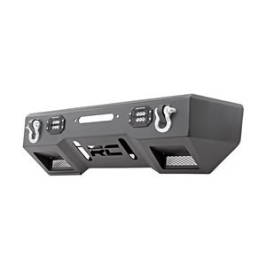 Front Stealth Stubby Winch Bumper w / Black Series LED Lights