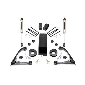 3.5IN GM SUSPENSION LIFT KIT W / FORGED UPPER CONTROL ARMS (07-16 1500 PU 4WD) W / V2 SHOCKS
