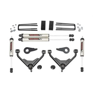 3IN GM BOLT-ON SUSPENSION LIFT KIT (01-10 2500 / 3500 PU / SUV) | V2 SHOCKS