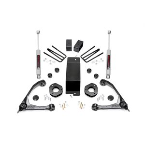 3.5IN GM SUSPENSION LIFT KIT W / FORGED UPPER CONTROL ARMS (07-16