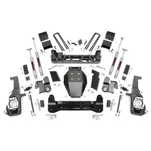 GM 2500 / 3500 11-18 5'' NTD SUSPENSION LIFT KIT