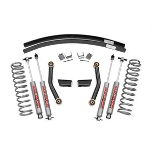 "JEEP XJ 84-01 3"" SERIES II SUSPENSION LIFT KIT W / PREMIUM N2.0"