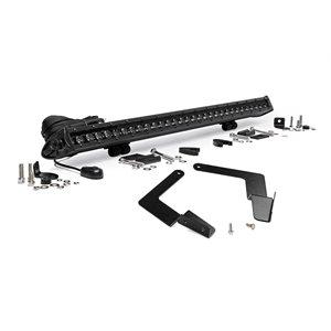 Toyota 30-inch Cree LED Bumper Kit | Black Series (16-19 Tacoma