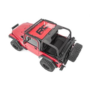 JEEP TJ 97-06 MESH BIKINI TOP / RED
