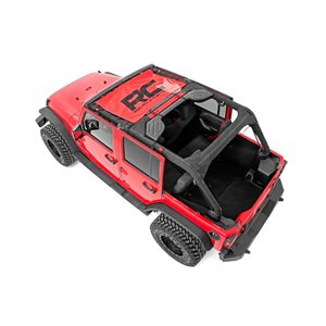 JEEP JK 07-18 MESH BIKINI TOP / RED