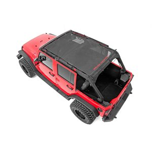 JEEP JK 07-18 | 4-DOOR BIKINI TOP PLUS / BLACK
