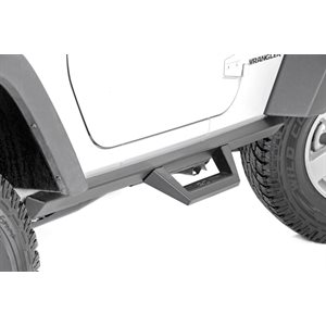 JEEP WRANGLER JK 07-18 CONTOURED DROP STEPS | 2-DOOR