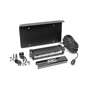 UNIVERSAL 8IN LED LICENSE PLATE KIT
