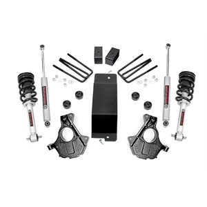 3.5IN GM SUSPENSION LIFT   KNUCKLE KIT (14-18 1500 PU 4WD)   CAST ALU OR STAMPED STEEL