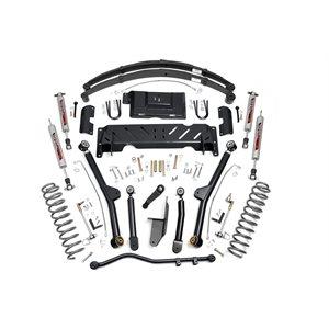 "JEEP XJ 84-01 4.5"" LONG ARM LIFT KIT W / 2.8 V6 / NP242 / LEAF SPRING"