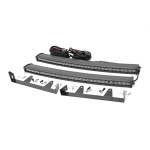 CHEVY 30IN LED HIDDEN GRILLE KIT(03-06 1500 / 2500) CHROME SERIES